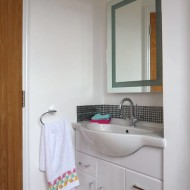 En-suite Hand Basin In Recess To Maximise Available Space. Property In Braintree.